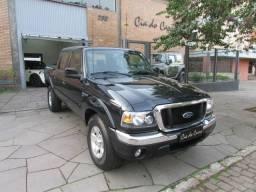 Ford ranger xlt 2.3 gasolina 2008 cabine dupla completa impecável - 2008