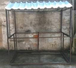 Estrutura completa barraca/food truck