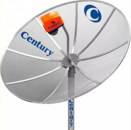 Antena Parabólica Century 1,50m Monoponto - Nova