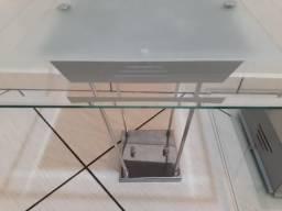 Lustre para sala em vidro (novíssimo)