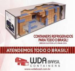 Container câmara fria PR