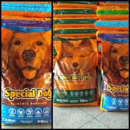 Saco de ração 15kg especial dog!!!