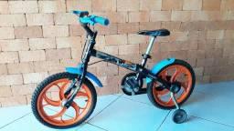 f2725463c Bicicleta Caloi Hot Wheels Aro 16
