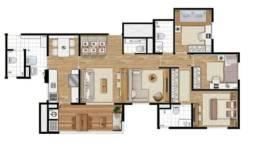 Aceito carro e negocio. Apto 4 Dormitórios - Condomínio Jardim da Cidade - Taboão da Serra