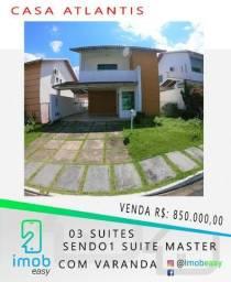 Casa Condomínio Atlantis 3 Suites