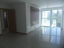 Apartamento com 3 dormitórios para alugar, 142 m² por R$ 3.800,00/mês - Icaraí - Niterói/R
