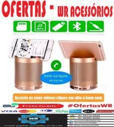 Caixa De Som Bluetooth Q3 + Brinde e Entrega Grátis