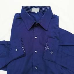 Camisa Masculina com combinado