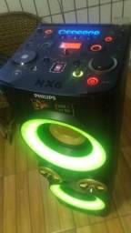 Som NX6 philips 2200w watts