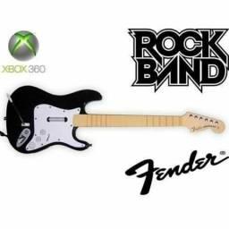 Guitarra rock band/guitar hero pra Xbox 360