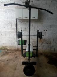 Vendo maquinha de musculação vai com todos os peso