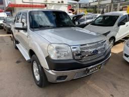 Ford Ranger XLT Manual Gasolina + banco de couro + muito nova! - 2011