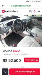 Honda Civic Ano 2015 - 2015