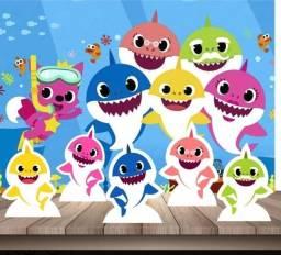 Kit decoração festa infantil Baby Shark 1