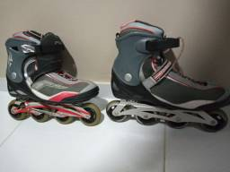 Patins Rollerblade 41-44 + Kit proteção Fila G