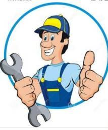Hidráulica, elétrica, pequenos reparos, etc