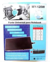 Carregador notebook universal da pra quase todos os modelos