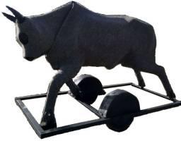 Vaca Mecânica de Fibra