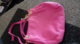 Bolsa couro pink