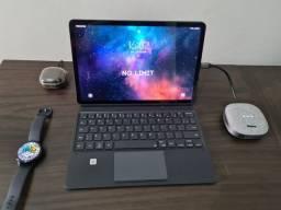 Título do anúncio: Samsung Galaxy Tab S7 + Capa teclado original
