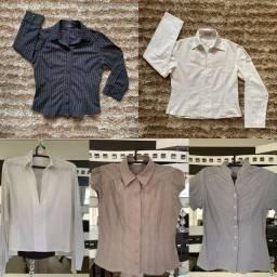 Blusa / Camisa social tam P / M - perfeitas para ocasioes profissionais