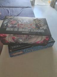 Cartas Yu-Gi-Oh! Legendary Collection Kaiba e Dragões Lendários + Cartas Avulsas