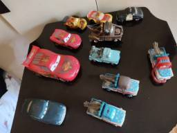 carrinho cars coletânia especial tem o mate, mac queen, doc, etc