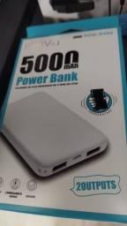 Powerbank bateria Extra celular 5000mah - Entregamos