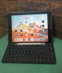 iPad 6 geração 128Gb Silver, Capa e teclado Logitech, Caneta Logitech lancamento.