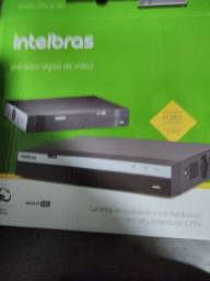 Kit de 04 câmeras instaladas Intelbras