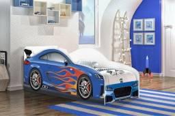 Cama Infantil Carro Azul