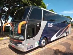 Ônibus Marcopolo Paradiso 1550 LD G6 Leito Seminovo Volvo B12R 380 CV - 6x2 - Automático -