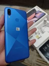 Samsung A10s 32giga biometria tela 6,2