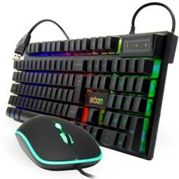 Kit Teclado Mouse Gamer Bk-g550 Exbom (fazemos entrega)