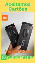 Smartwatch Xiaomi Mi Band 5 global (parcelamos em até 12x)