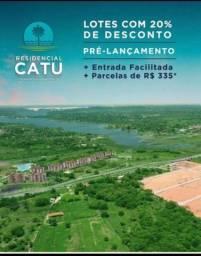 Loteamento residencial Catu, às margens da CE-040 !