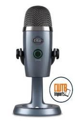 Microfone Logitech Blue Yeti Nano Premium - USB - Shadow Gray - 12X Sem Juros