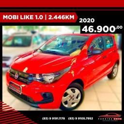 Mobi Like 1.0 - 2020 com apenas 2.446 KM Rodado