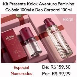 Kit Perfume Kaiak Aventura Feminino