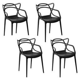 Kit 4 und. Cadeiras Allegra (nova e embalada)