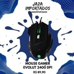 Mouse Gamer Evolut Com 06 Botões -2400 dpi