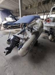 Bote Zefir Sport 4.2  / casco rígido/ motor de popa Yamaha 40 Hp 2015