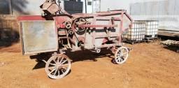 Máquina antiga para decoração .