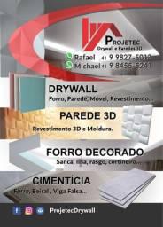 Drywall e Paredes 3D