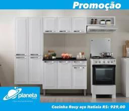 cozinha Rosy aço Itatiaia planeta móveis