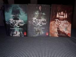 Livros trilogia Dragões de Éter