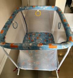 Cercado Dobrável Tubline Little Baby Azul