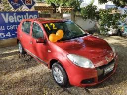 Renault Sandero 2012/ Completa/ 1.6/ Gnv/ Rodas de liga leve/ Pneus novos