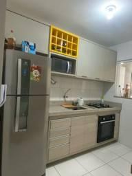 Vendo cozinha com bancada, cooktop e forno elétrico de embutir.