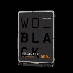 "HD para Notebook Western Digital 500GB, 2,5"", novo, original"